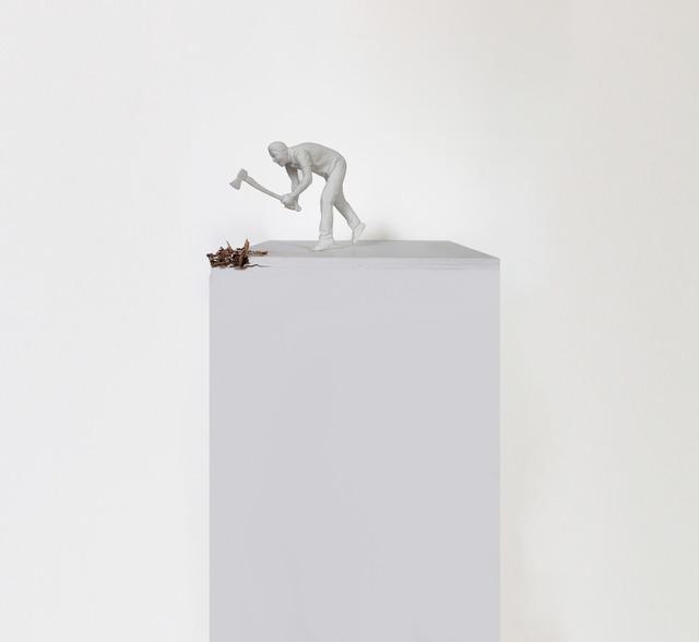 , 'Braking the Plinth,' 2014, 0gms