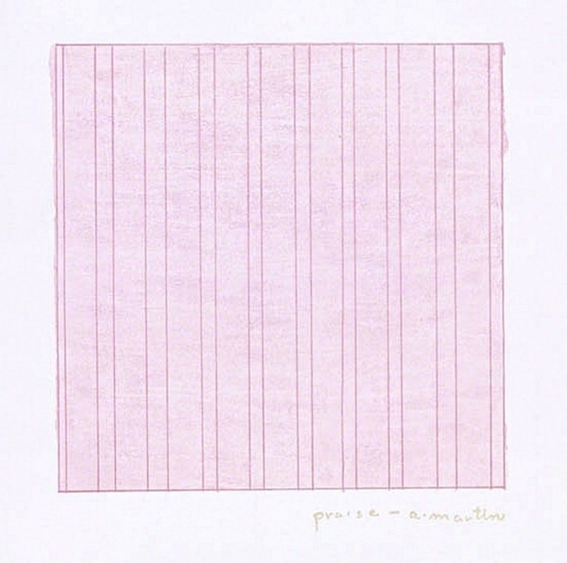 Agnes Martin, 'Praise (for the Museum of Modern Art)', 1976, Alpha 137 Gallery