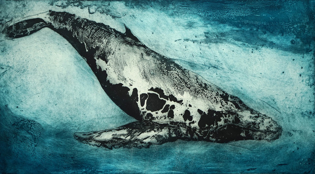 , 'Leviathan II,' 2016, Glasgow Print Studio