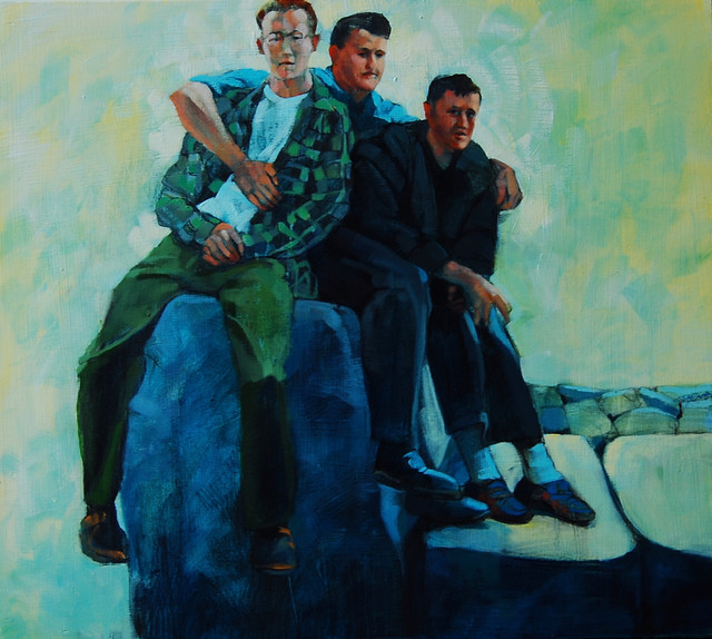 , '3 on the Rocks,' , Bowersock Gallery