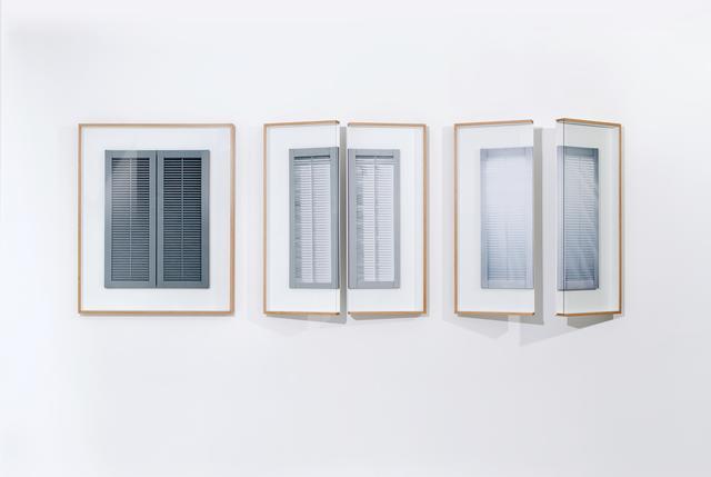 , 'Shutters,' 2013, Keitelman Gallery