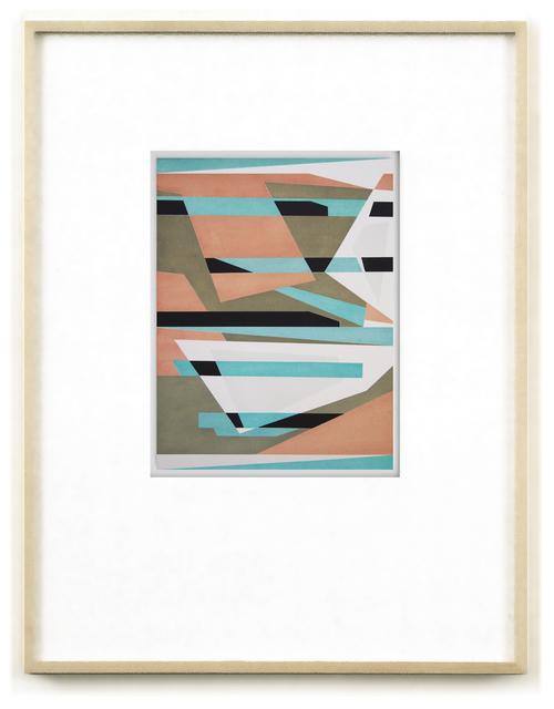 , 'Kaspar Hausers Versuch die befohlene Tonlage zu torpedieren. cp0223,' 2015, Galerie Hubert Winter