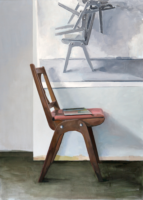 Jenny Brillhart, 'Paint as One and Many Chairs', 2019, Dowling Walsh