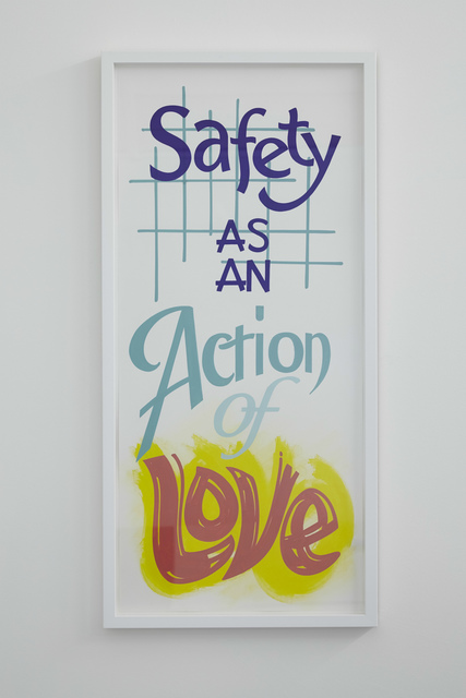 , 'Safety as an action of love,' 2017, Rowing