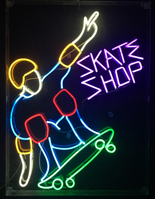 , 'Skate Shop,' 1980's, InLiquid