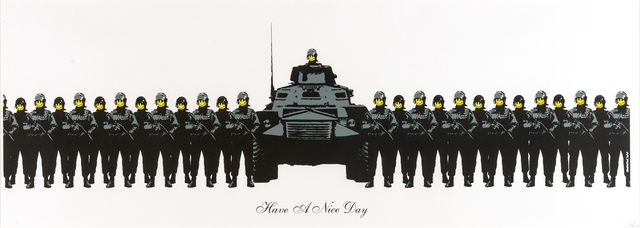 Banksy, 'Have a Nice Day', 2003, Print, Screenprint in colours, Forum Auctions