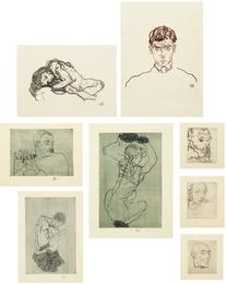 Egon Schiele, 'Das Graphische Werk von Egon Schiele,' 1914-18/1922, Phillips: Evening and Day Editions (October 2016)