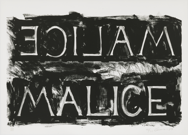 , 'Malice ,' 1980, Susan Sheehan Gallery