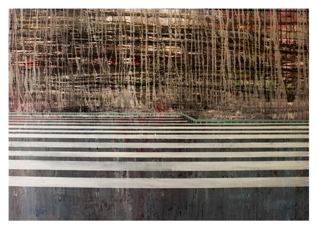 , 'Lake with Trees,' 2017-2018, Bab idDeir Art Gallery