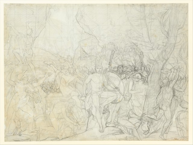 Jacques-Louis David, 'Leonidas at Thermopylae', ca. 1814, The Metropolitan Museum of Art