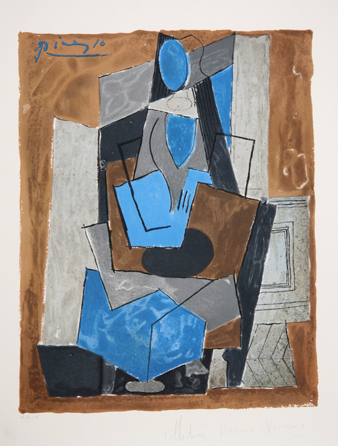 Pablo Picasso, 'Femme Assise, 1919', 1979-1982, RoGallery