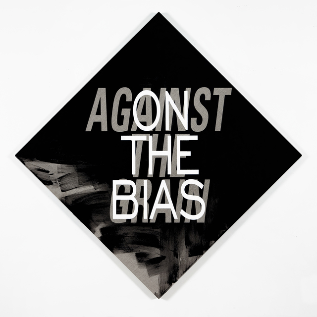 , 'On the Bias/Against the Grain,' 2012, Resource Art