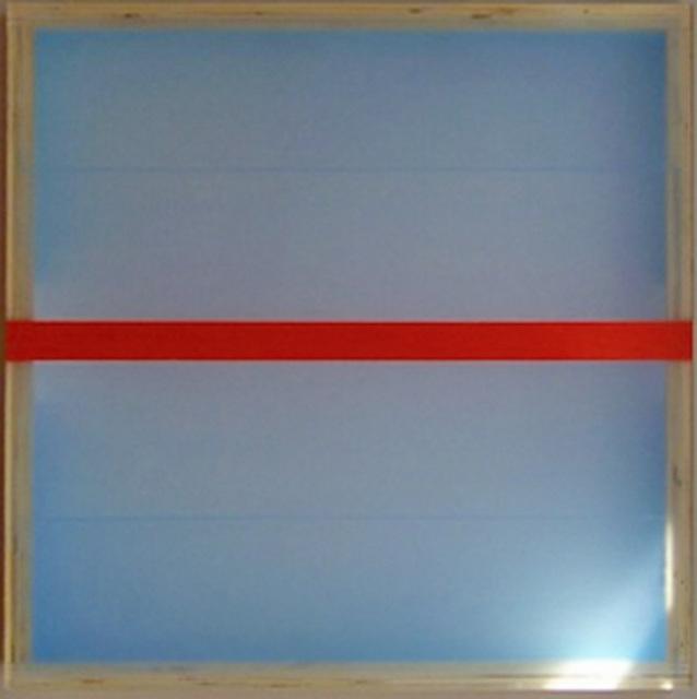 , 'Divided Light (Vermillion),' 2008, Winston Wächter Fine Art