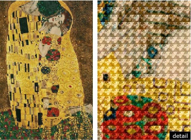 Alex Guofeng Cao, 'Kiss You in Vienna, After Klimt', 2015, Cavalier Ebanks Galleries