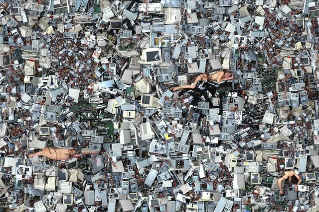 Daniel Canogar, 'Other Geologies 2,' 2008, bitforms gallery
