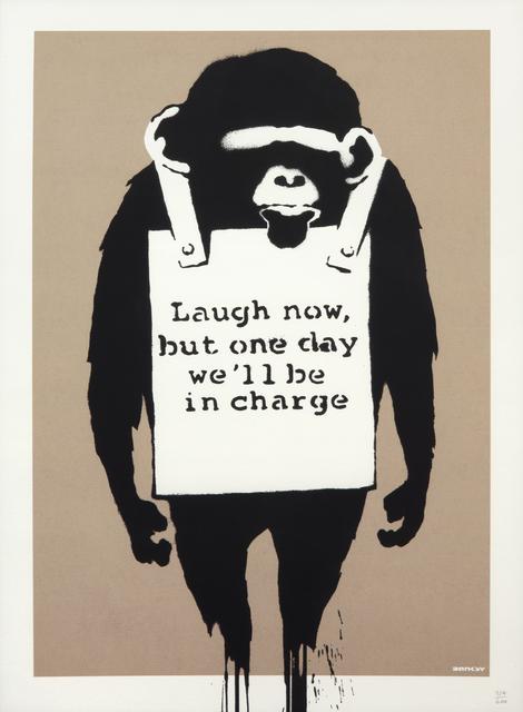 Banksy, 'Laugh Now', 2005, Julien's Auctions