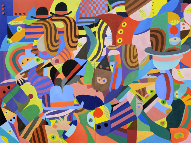 Christoph Ruckhäberle, 'untitled 1', 2019, Painting, Oil on canvas, Galerie Kleindienst