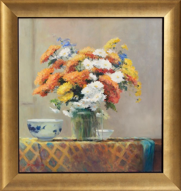 Jacqueline Fowler, ''Chrysanthemums' ', 2014, Wentworth Galleries