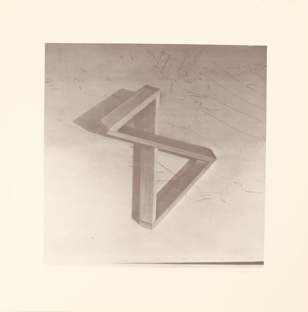, 'Blatt i aus der Edition: 9 Objekte ,' 1969, Galerie Brigitte Schenk