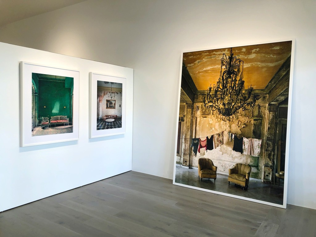 Michael Eastman: Green Interior, Havana; Mirror Table, Havana; Isabella's Two Chairs, Havana