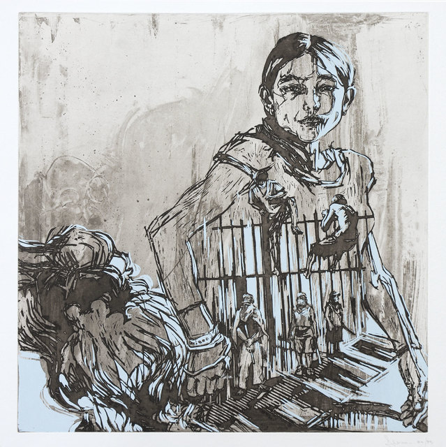 Swoon, 'Argentina', 2008, Print, Etching and screenprint, Goldmark Gallery