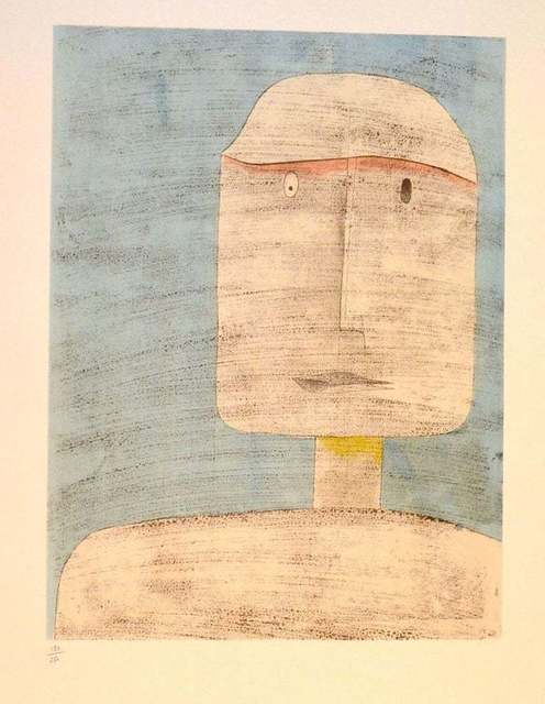 Paul Klee, 'Ghost of a Warrior', 1960, Wallector