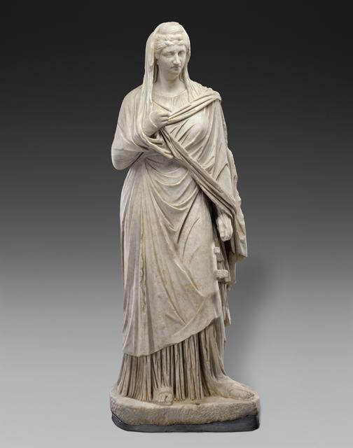 'Portrait of Faustina the Elder', 140 -160, J. Paul Getty Museum