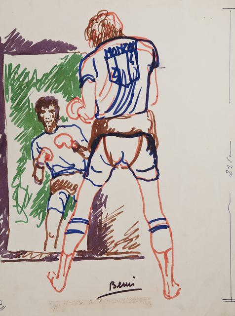 , 'Sin Título (Carlos Monzón),' 1977, Cosmocosa