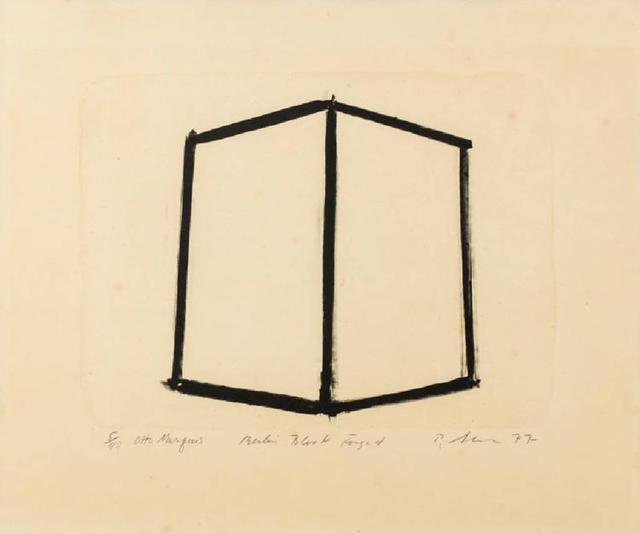 Richard Serra, 'Berlin Block Forged', 1977, Sebastian Fath Contemporary