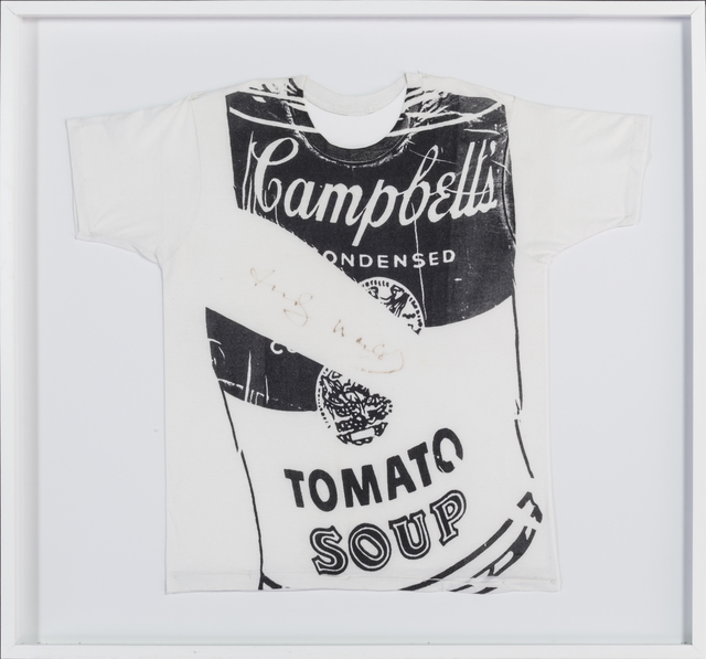 , 'Campbell Soup T-shirt ,' 1980, RUDOLF BUDJA GALLERY
