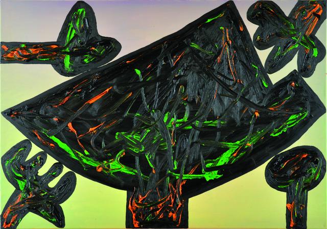 , 'fließ Wandlunsmöglix (1 Landschaft und 4 Pflanzen),' 2013, Niklas Schechinger Fine Art.