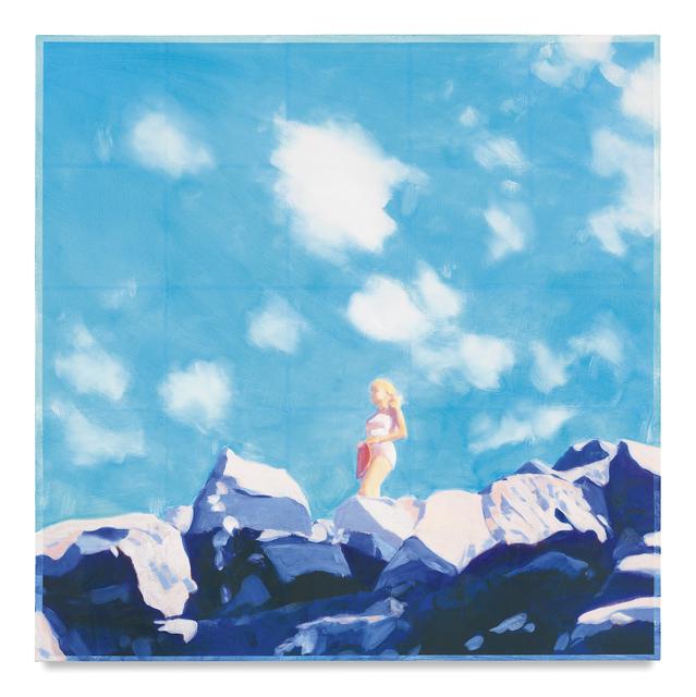 , 'Woman on the Rocks II,' 2016, Miles McEnery Gallery