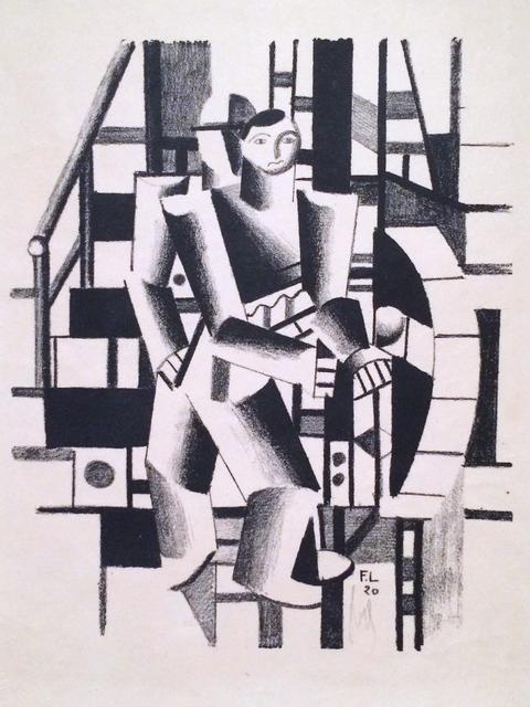 , 'Composition aux deux personnages,' 1920, Isselbacher Gallery