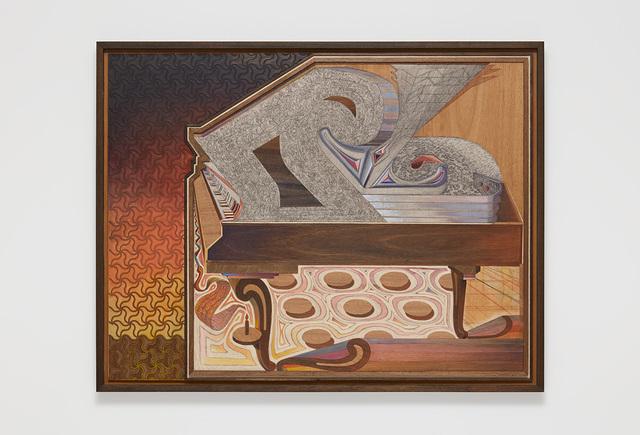 , 'Steinway Sunset,' 2018-2019, David Kordansky Gallery