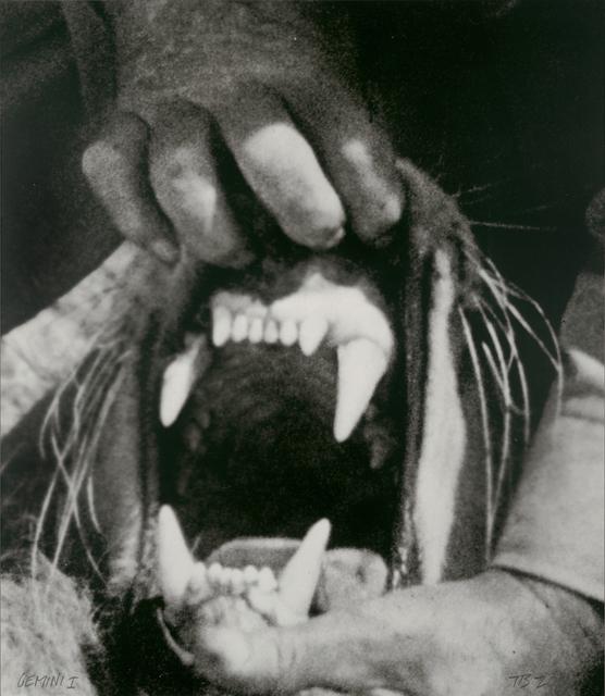 , 'Hands & Feet: Hands, Tiger & Teeth,' 2017, Gemini G.E.L.