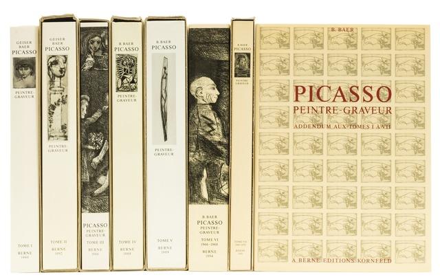 Pablo Picasso, 'Peintre-Graveur I-VII, Addendum', The complete set of seven catalogues of Picasso's graphic work, Forum Auctions
