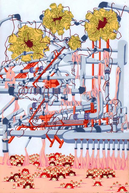Hyun Jung Ji, 'Pink Factory', 2018, MvVO ART