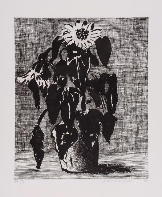 David Hockney, 'Sunflower I', 1995, Mr & Mrs Clark's