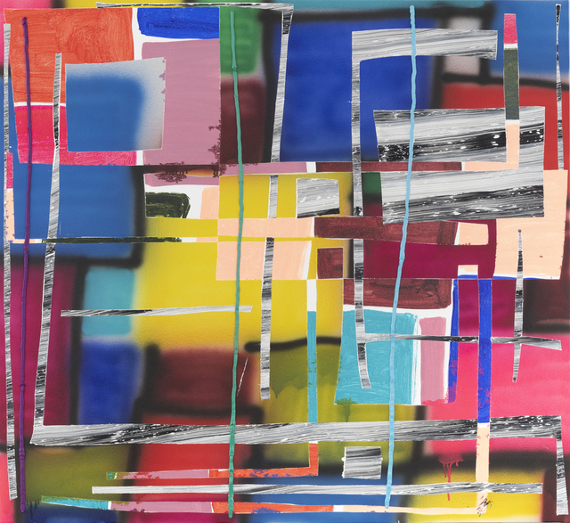 Trudy Benson, 'Blue Cut', 2018, Painting, Acrylic and oil on canvas, Rema Hort Mann Foundation Benefit Auction