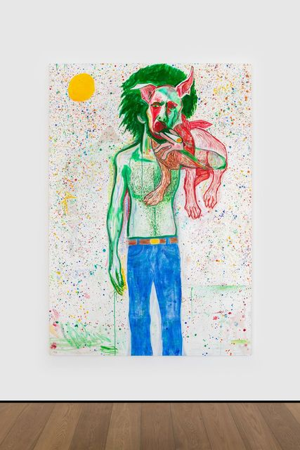 Jason Fox, 'Griffin', 2019, Painting, Acrylic, oil & pencil on canvas, Almine Rech