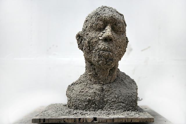 , 'Ash Portrait No. 3 (Thinker No. 3),' 2007, Storm King Art Center