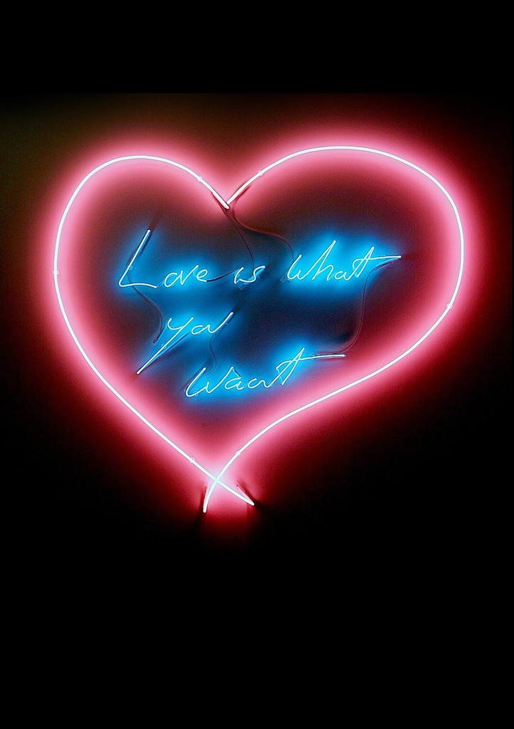 Tracey Emin, 'Love is what you want,' , Sedition