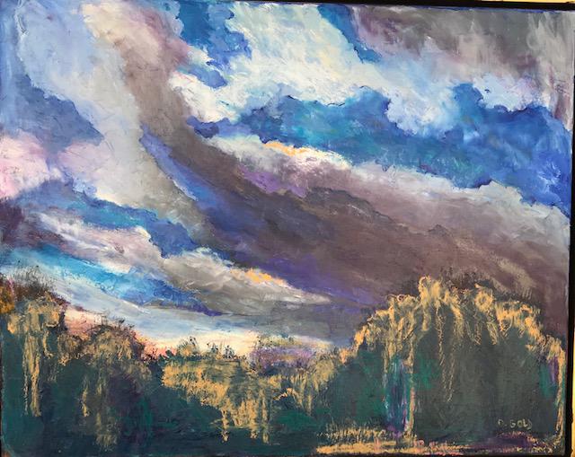 , 'Sky,' 2017, Gallery 901
