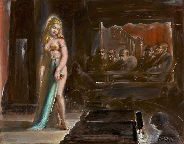 , 'Burlesque Queen,' , Questroyal Fine Art