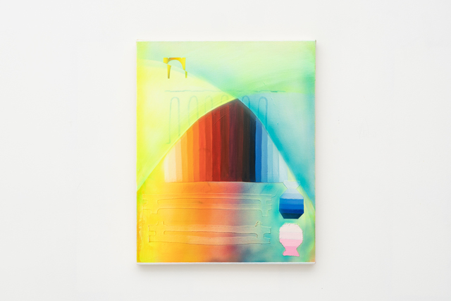, 'Color Cones & Water,' 2018, See You Next Thursday