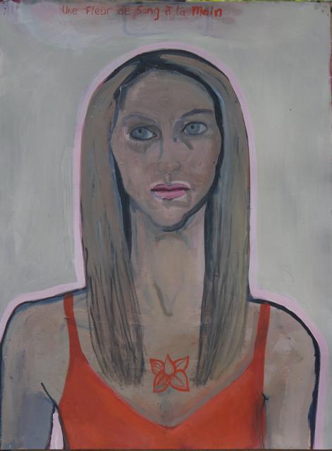 , 'Une Fleur De Sang ,' 2017, J. Cacciola Gallery