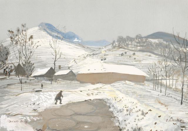 , 'Der rote Berg (The red mountain),' ca. 1935, Galerie Kovacek & Zetter