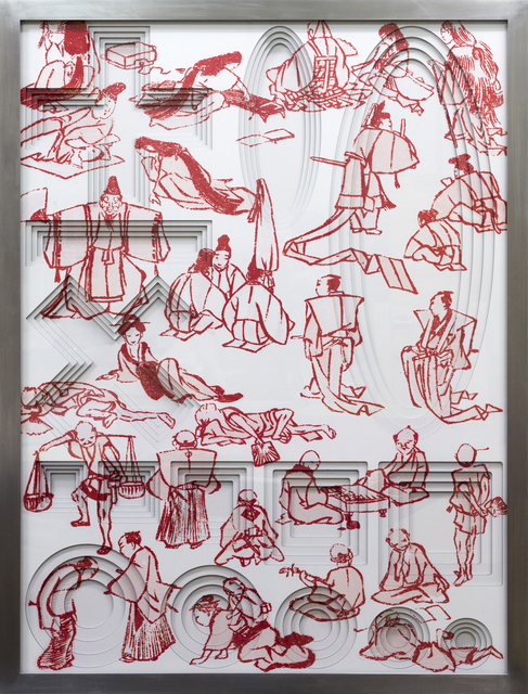 , 'Hokusai 02.,' 2014, Georg Kargl Fine Arts