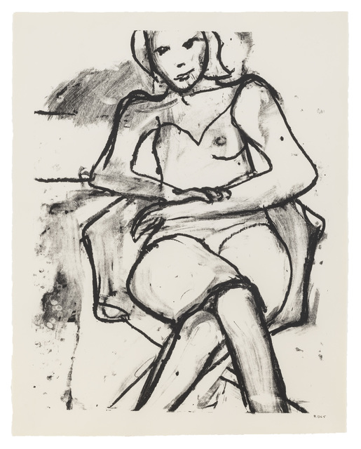 , 'Seated Woman with Hands Crossed,' 1965, Susan Sheehan Gallery