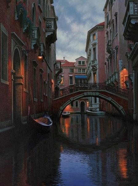, 'Quiet Nights,' , LaMantia Fine Art Inc.